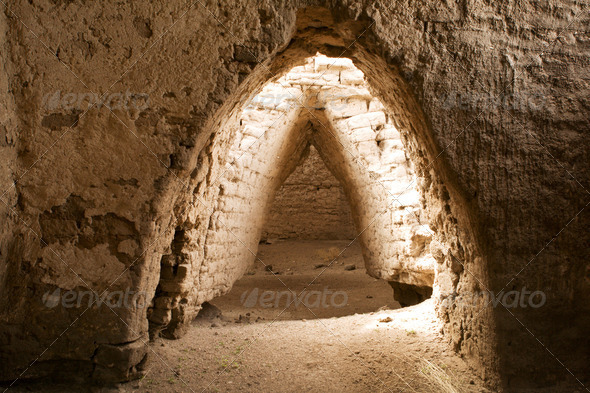 PhotoDune Ancient construction made brick 4175559
