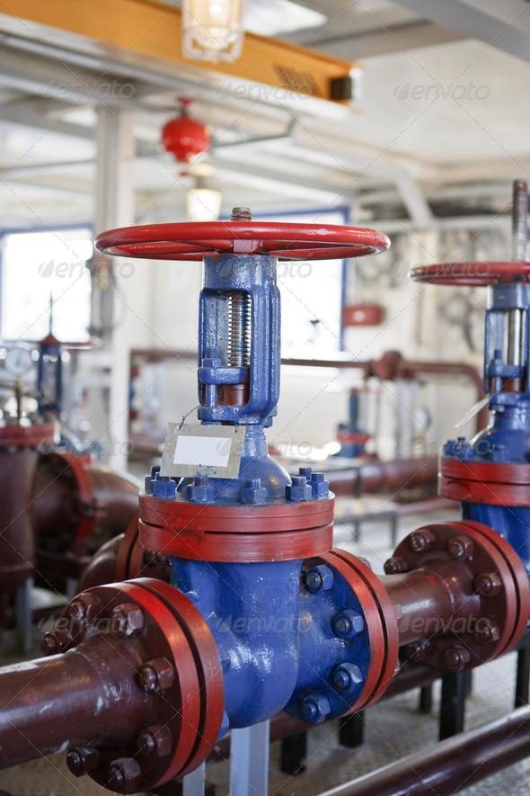 PhotoDune Industrial zone Steel pipelines 4175568