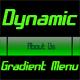 Dynamic Gradient Menu - ActiveDen Item for Sale