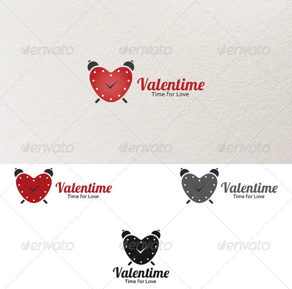 GraphicRiver Valentime Logo Template 4176183