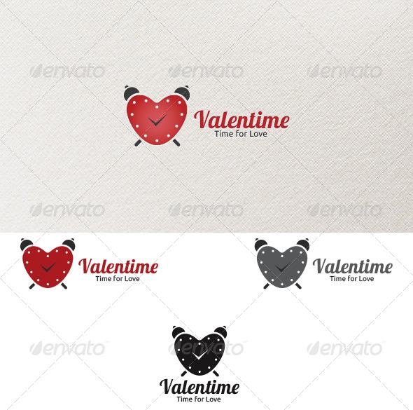 Valentime - Logo Template