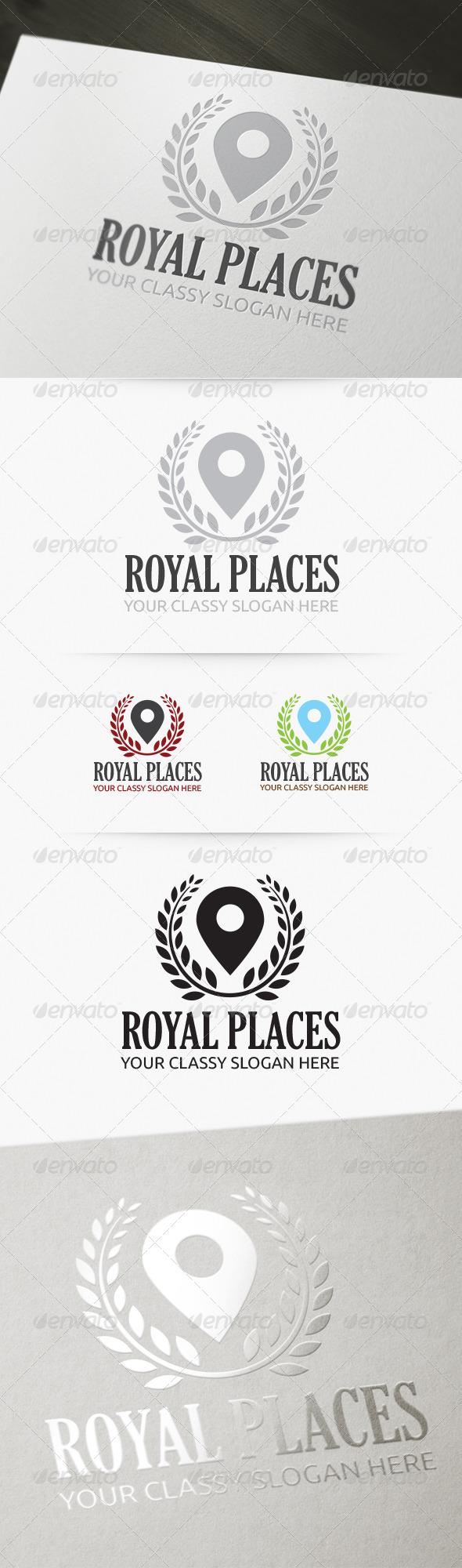 GraphicRiver Royal Places Logo 4176410