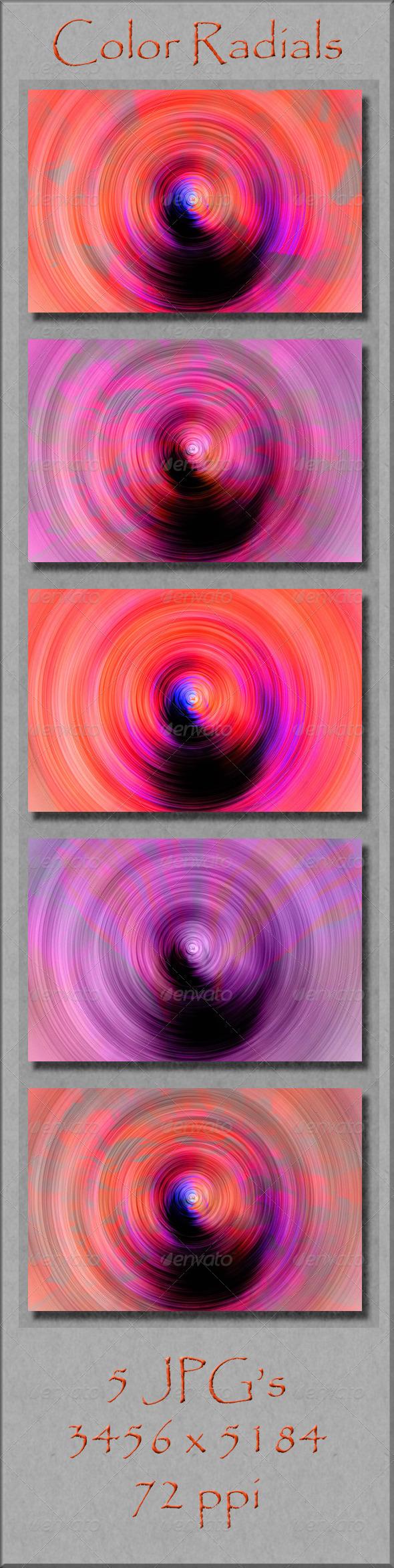 GraphicRiver Color Radials 4176991