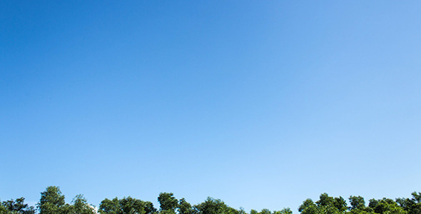 VideoHive Just A Blue Sky II Time Lapse 4177161