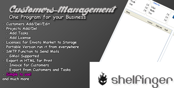 CodeCanyon Customer-Management Software 4177162
