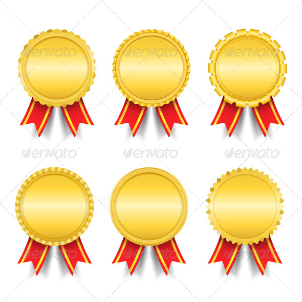 GraphicRiver Golden Medals 4177198
