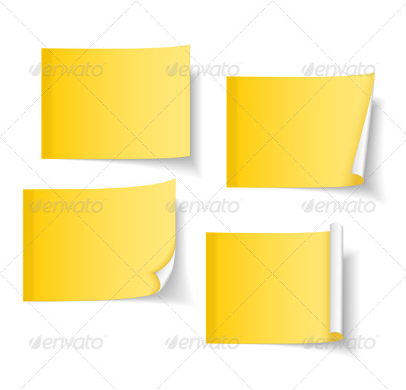 GraphicRiver Sticky Notes 4177203