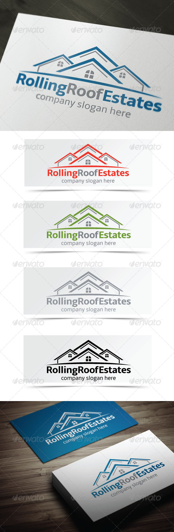GraphicRiver Rolling Roof Estates 4177466