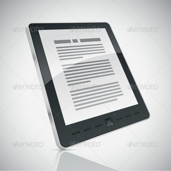 GraphicRiver E-book Reader 4177470