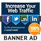 Social Media Web Banners Set - GraphicRiver Item for Sale