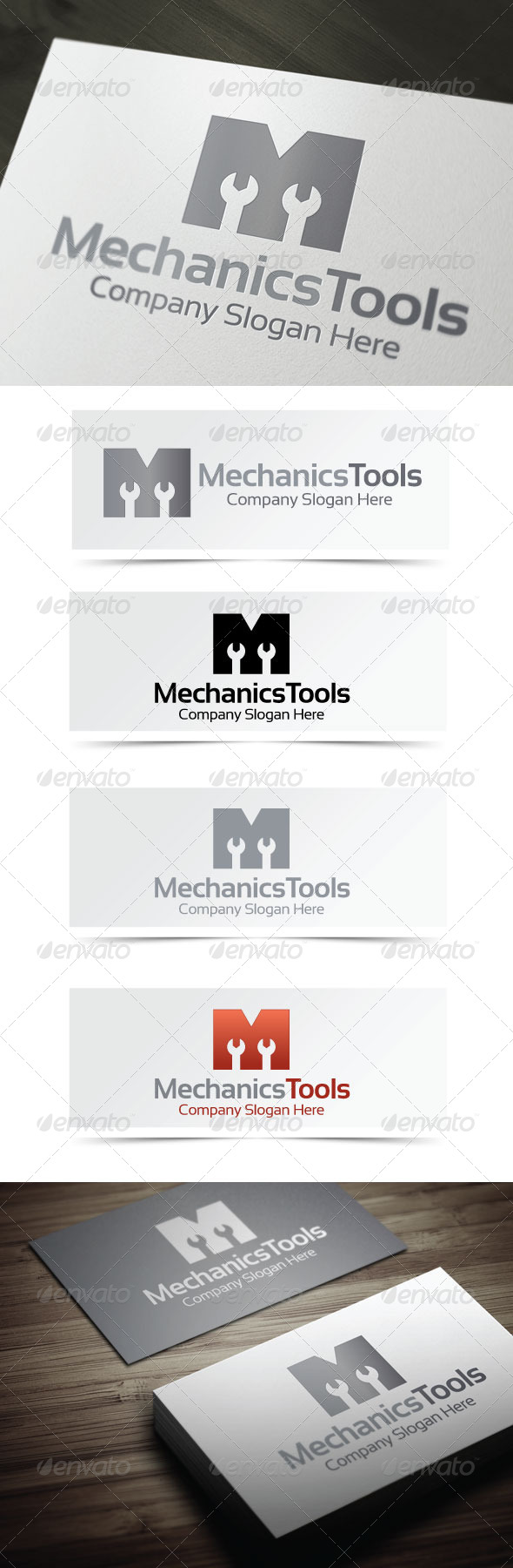 GraphicRiver Mechanics Tools 4177489