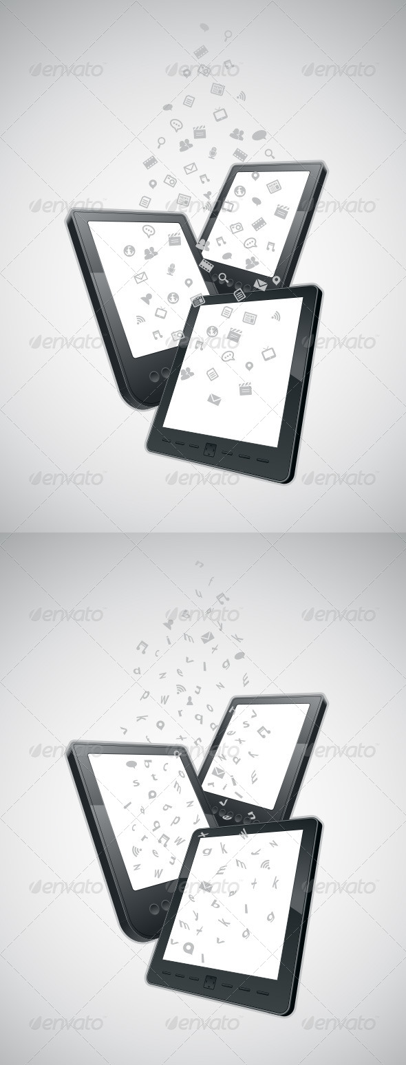 GraphicRiver Mobility Communication Items 4177493