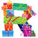 Download Vector RSTU - Alphabet of Presents