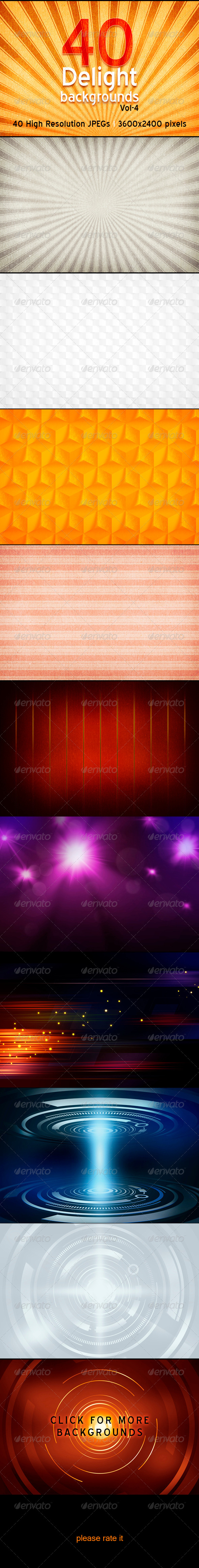 GraphicRiver Delight Backgrounds Vol-4 4177754