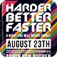 Harder Better Faster Flyer - GraphicRiver Item for Sale