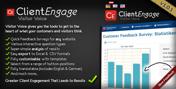 CodeCanyon Visitor Voice Effective Website Surveys 4179837
