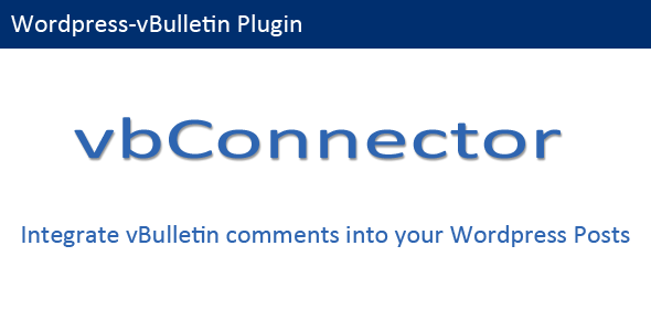 CodeCanyon vBulletin Connector 4126499