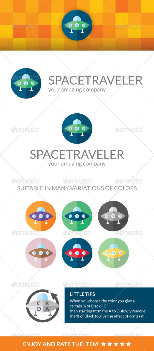 GraphicRiver Space Traveler 4084288