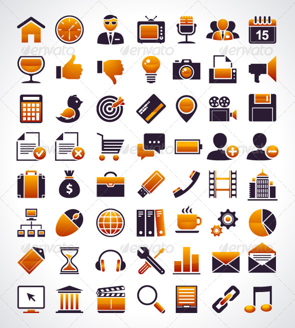 GraphicRiver Universal Web Icons 4182288
