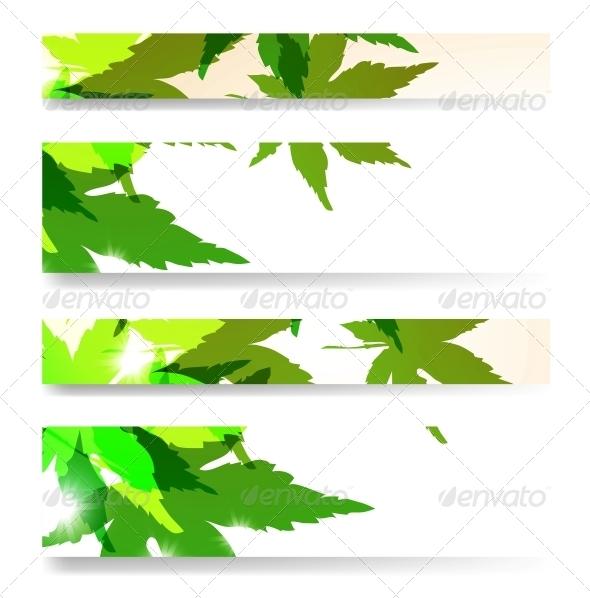 GraphicRiver Autumn Banner Set 4182378
