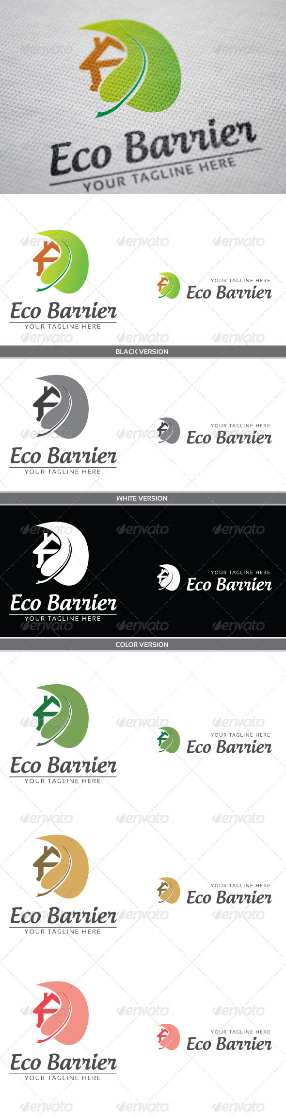GraphicRiver Eco Barrier 3809282