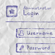 Web App Login Form (BallPen)