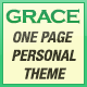 Grace - One Page Personal Theme - ThemeForest Item for Sale