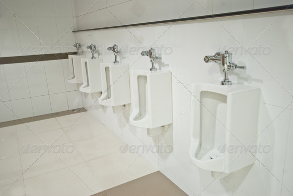 PhotoDune Public toilets urinals 4184433