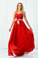 beautiful woman in red long dress. - PhotoDune Item for Sale