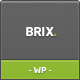 Brix – Premium Theme for Blog/Portfolio/Creative