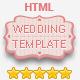 دعوة زفاف قالب HTML المستجيبة - البند WorldWideThemes.net للبيع