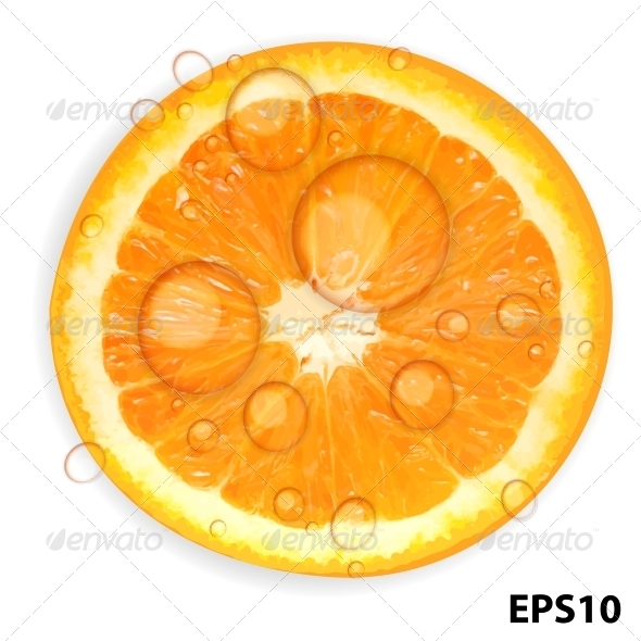 GraphicRiver Fresh Orange Background 4183142