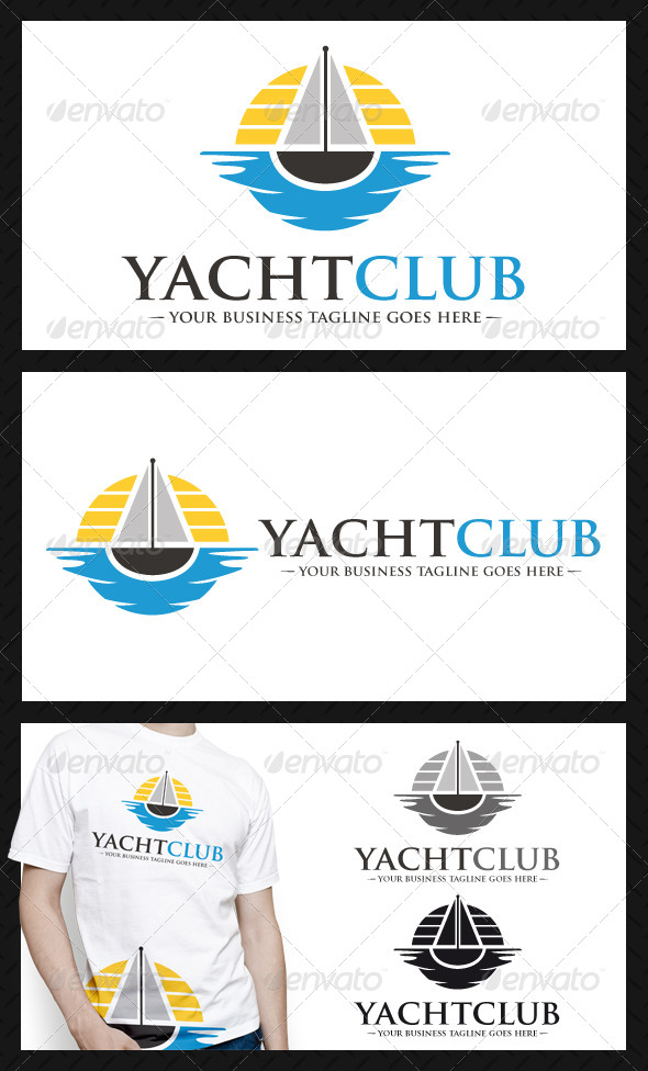 GraphicRiver Yatch Club Logo Template 4101252
