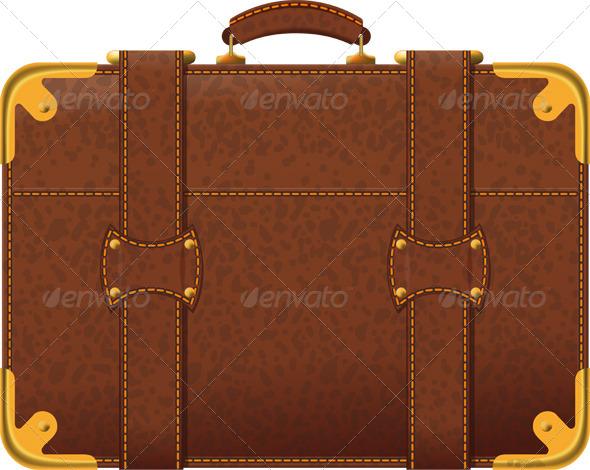 GraphicRiver Brown Suitcase 4183816