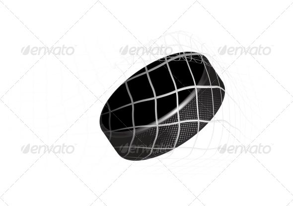 GraphicRiver Hockey Puck 4184295