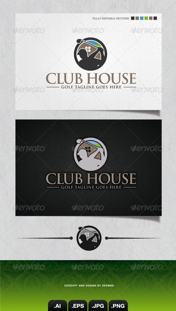 GraphicRiver Club House Logo 4184403