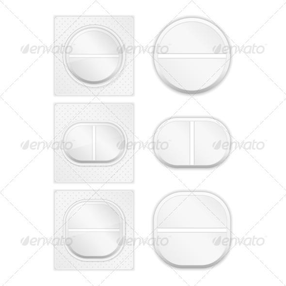 GraphicRiver Pills 4184404