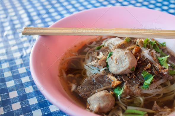 PhotoDune Beef noodle soup 4184728