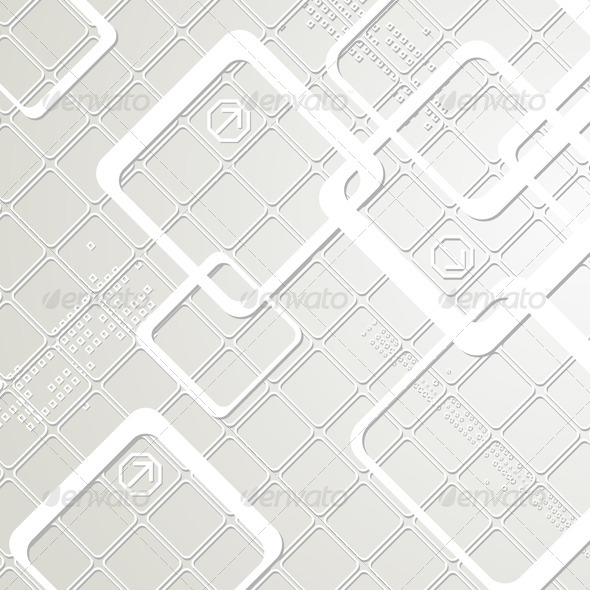GraphicRiver Vector Abstract Hi-Tech Background 4184998