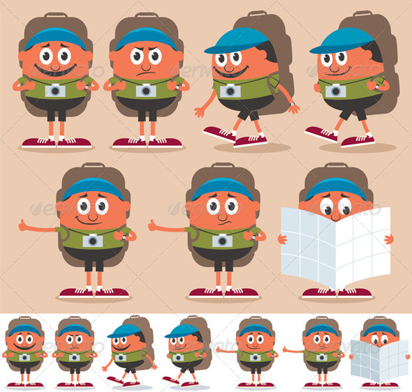 Backpacker - People Characters