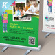 Junior School Promotion Roll-up Banners - GraphicRiver Item for Sale