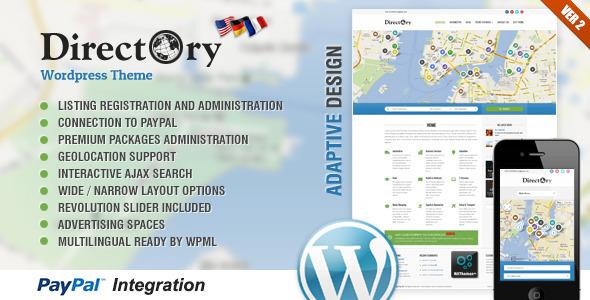 Tema de WordPress para montar un directorio: Directory Portal