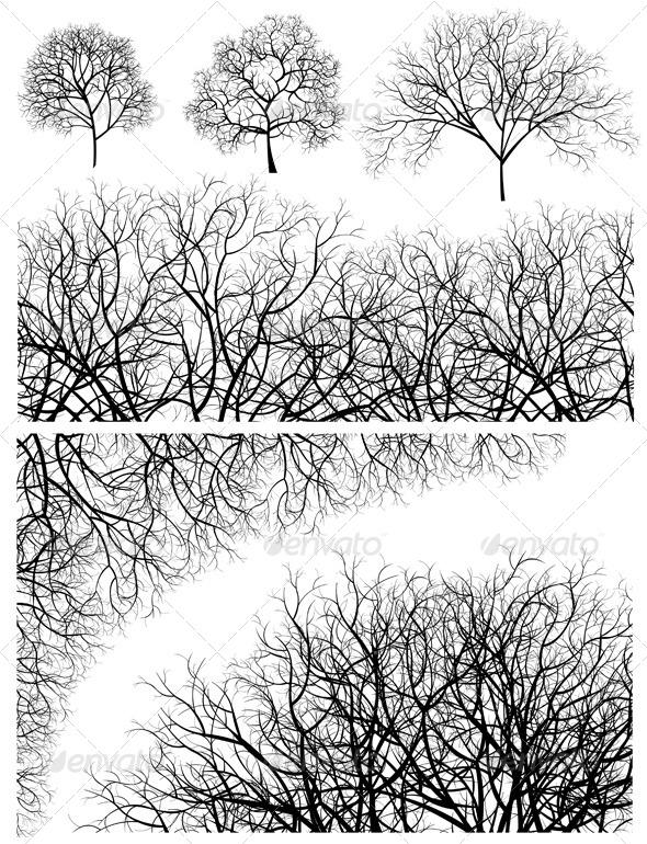 GraphicRiver Tree Designs 4185942