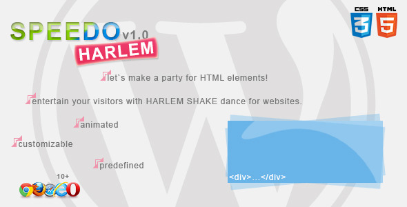 CodeCanyon Speedo Harlem Meme Shake Generator for WordPress 4176689