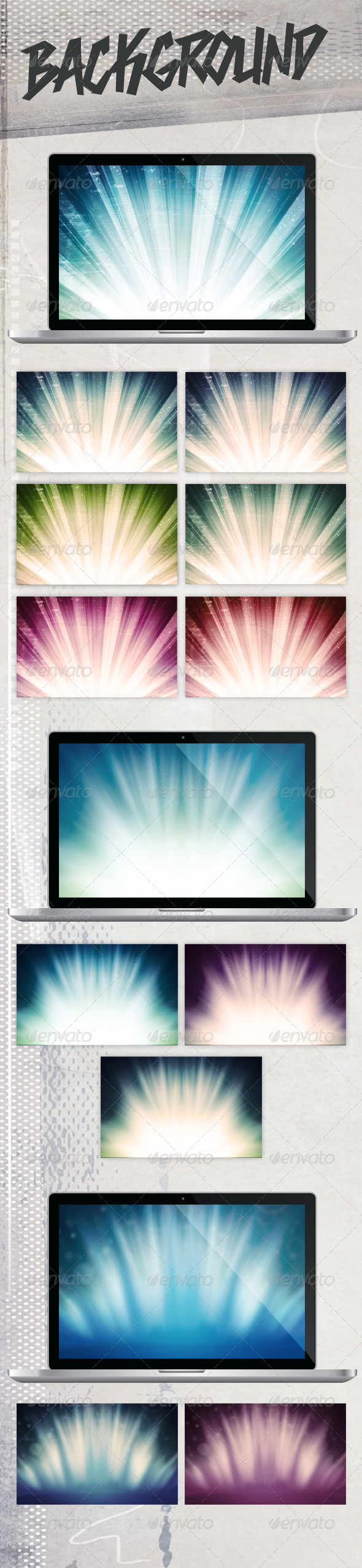 GraphicRiver Rays Background 4186044