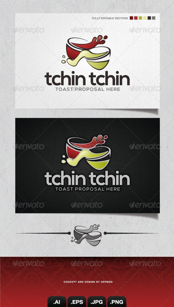 GraphicRiver Tchin Tchin Logo 4186424