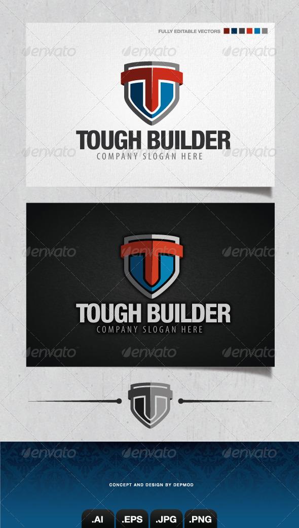 GraphicRiver Tough Builder Logo 4188433