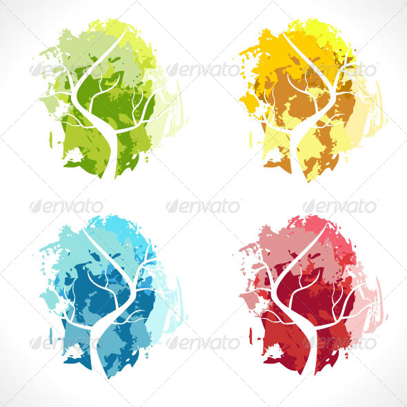 GraphicRiver Abstract Tree 4070797