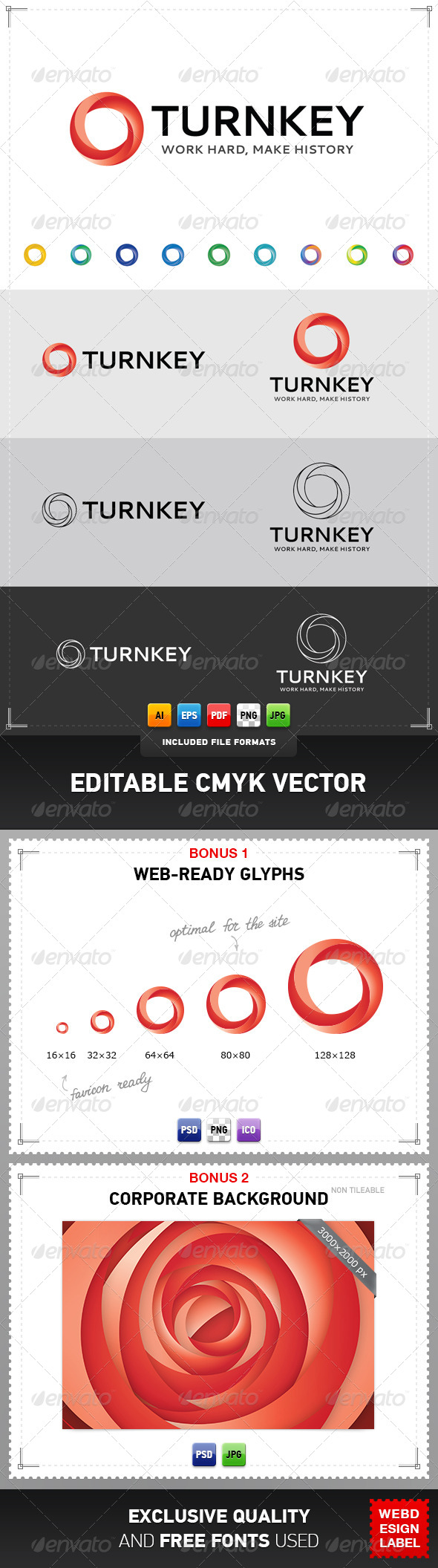 GraphicRiver Turnkey Business Consulting Logo 4077361