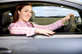 woman driving a car - PhotoDune Item for Sale